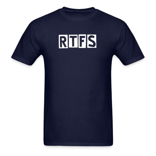 RTFS (please read the syllabus) - Men's T-Shirt