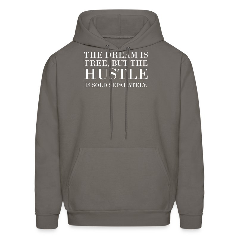 hustle sold separately - Men's Hoodie