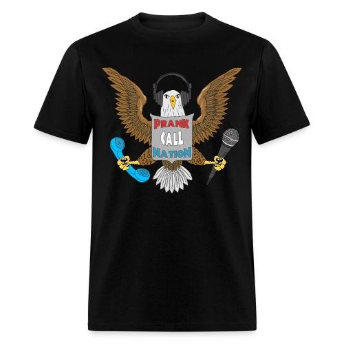PCN Eagle with Sheild - Men's T-Shirt