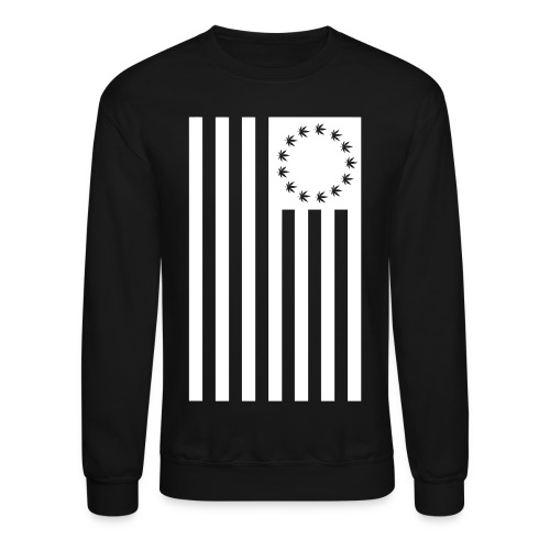 Kush Flag- Crew Neck  - Crewneck Sweatshirt