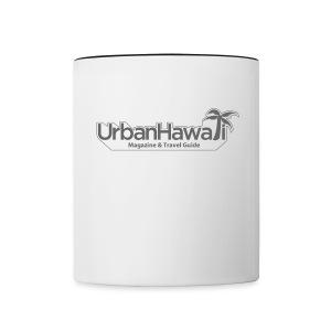 Urban Hawaii Coffee Mug - Border - Contrast Coffee Mug