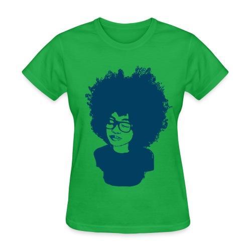 Rock tha' Fro! - Women's Tshirt - Women's T-Shirt