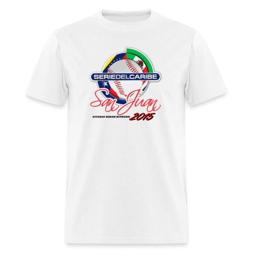 Serie dek Caribe 2015 - Men's T-Shirt
