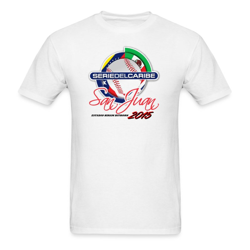 Serie dek Caribe 2015 - Men's T-Shirt