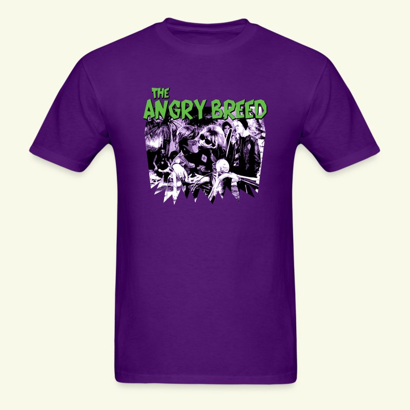 VOICES GREEN AND PURPLE - Men's T-Shirt