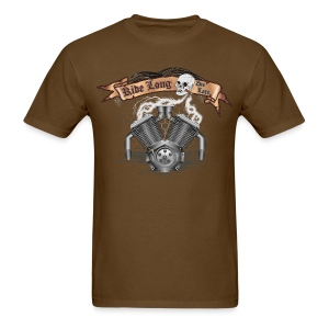 Motorcycle Bike Engine - Men's T-Shirt