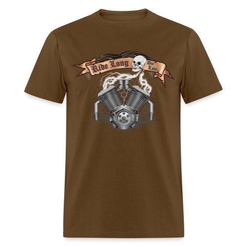 Motorcycle Bike Engine - Men's T-Shirt