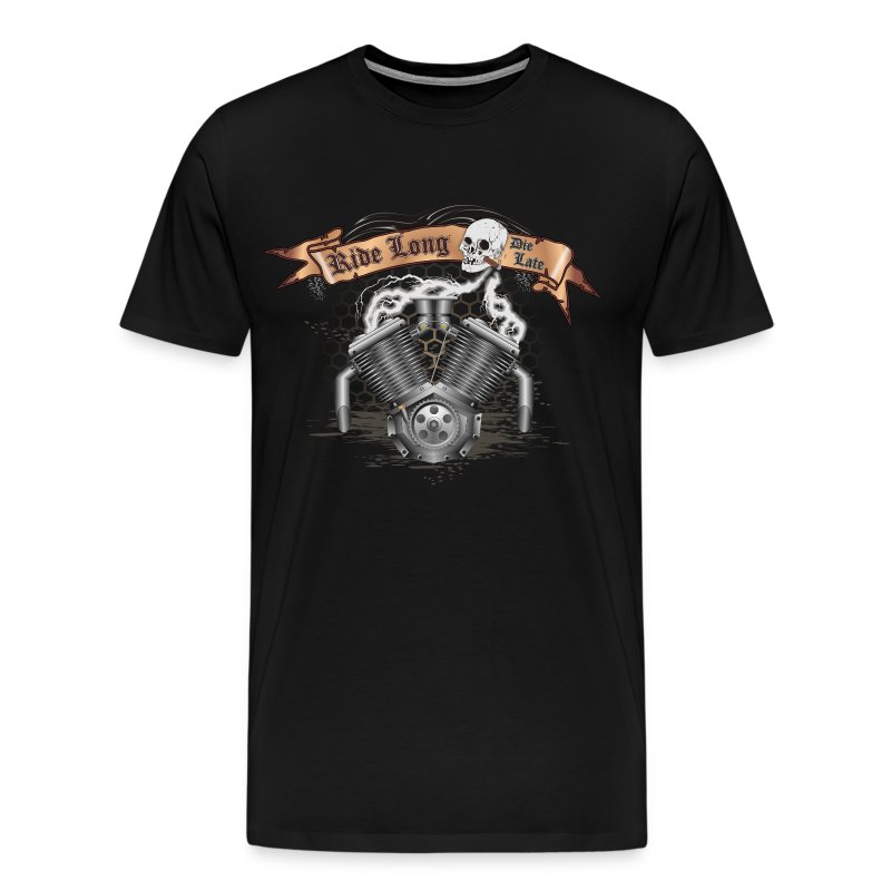 Motorcycle Bike Engine - Men's Premium T-Shirt