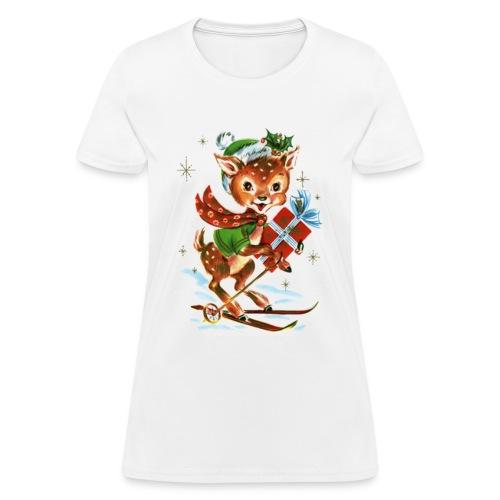 Christmas Reindeer - Women's T-Shirt