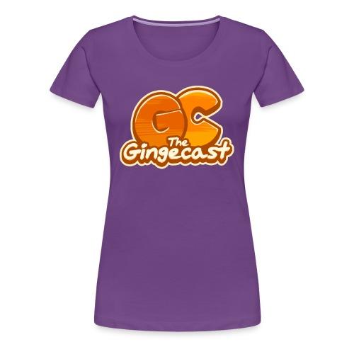 Women's Gingecast 2015 Logo T-Shirt - Women's Premium T-Shirt