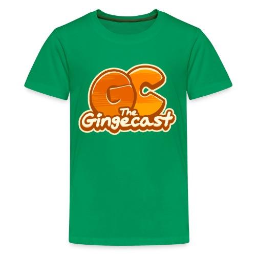 Kid's Gingecast 2015 Logo T-Shirt - Kids' Premium T-Shirt