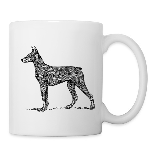 Doberman - Coffee Cup - Coffee/Tea Mug