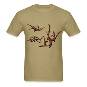 Tribal Glow Bronze - Men's T-Shirt
