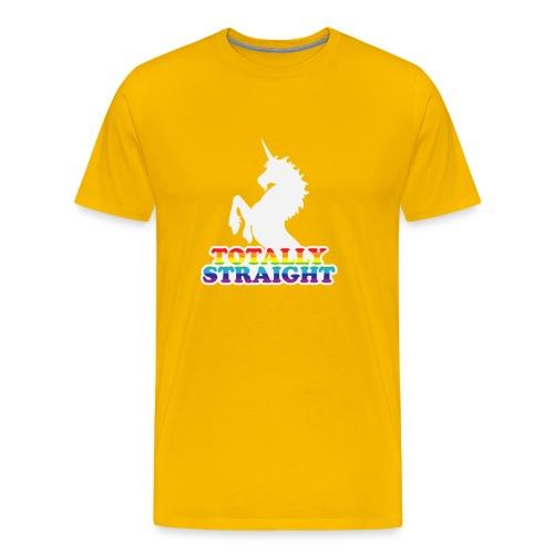 Totally Straight - Men's Premium T-Shirt