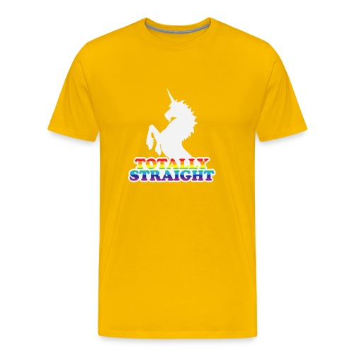 Totally Straight - Men's Premium T-Shirt