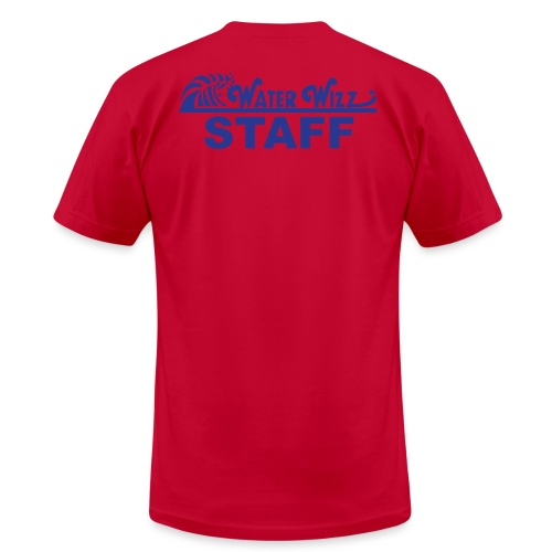 Water Wizz - STAFF - Men's Fine Jersey T-Shirt