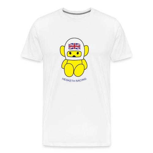 James Hunt Hesketh Racing Bear - Men's Premium T-Shirt