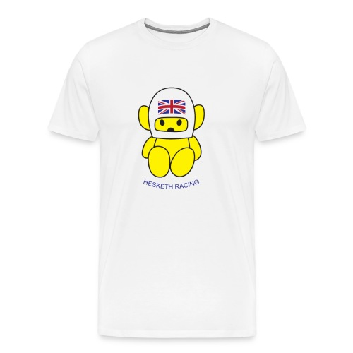 James Hunt Hesketh Racing Bear - Men's Premium T-Shirt