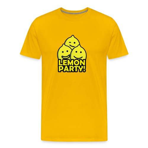 Lemon Party! - Men's Premium T-Shirt