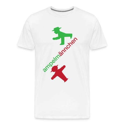 ampelmännchen - Men's Premium T-Shirt