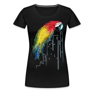 Polly in the City - Women's Premium T-Shirt