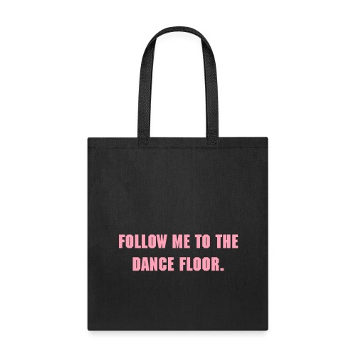 Dance floor-bag pink - Tote Bag