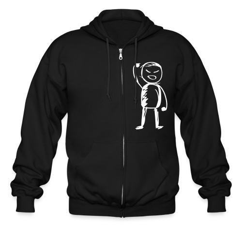 K-Rock Fist Pump Hoodie - Men's Zip Hoodie