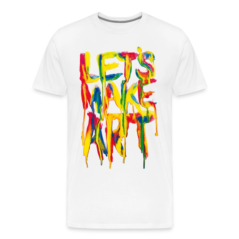 Let's Make Art - Men's Premium T-Shirt