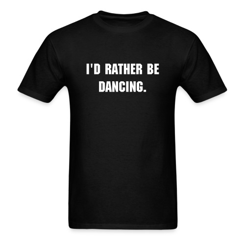 I'd rather be… MENS - Men's T-Shirt