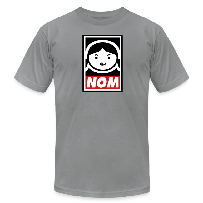 02d8ec1c Nom Nom Paleo | NOM (Mens Athletic Cut) - Mens Jersey T-Shirt