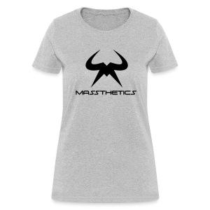 Women's black logo free color selection - Women's T-Shirt