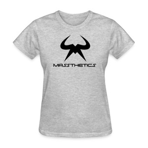 Women's black logo free color selection - Women's T-Shirt