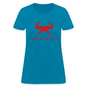 Women's red logo free color selection - Women's T-Shirt