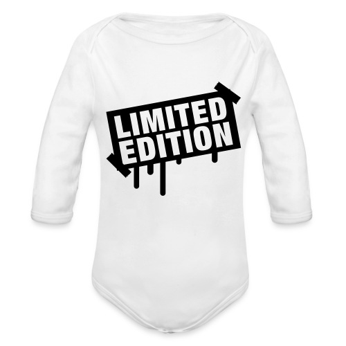 Limited Edition Baby T - Organic Long Sleeve Baby Bodysuit