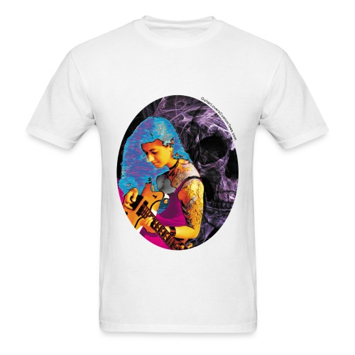 Guitar Beauty - Men's T-Shirt