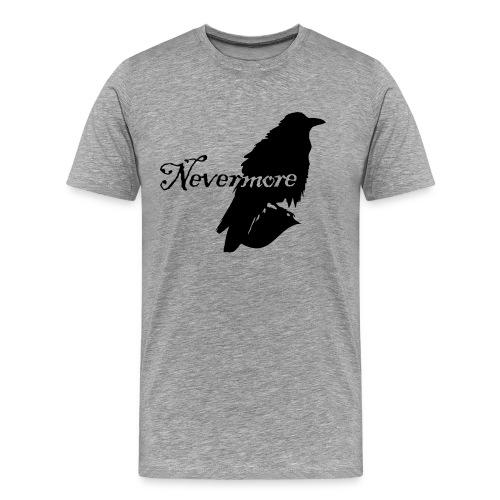 Raven Never More  - Men's Premium T-Shirt