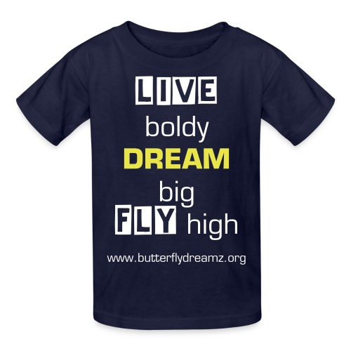 Live, Dream, Fly Youth T-Shirt - Kids' T-Shirt