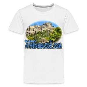 Athensguide Acropolis (kids) - Kids' Premium T-Shirt