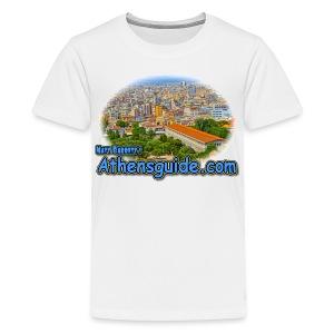 Stoa of Attalos (kids) - Kids' Premium T-Shirt