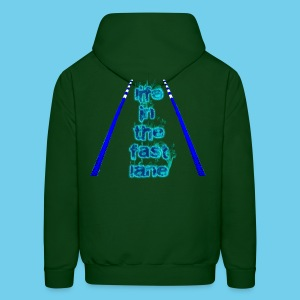 Life in the Fast lane- Men's Hoodie - Men's Hoodie
