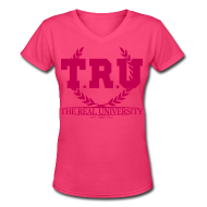 Women's T-Shirts ~ Women's V-Neck T-Shirt ~ Article 101112486