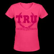 Women's T-Shirts ~ Women's V-Neck T-Shirt ~ Article 101112486