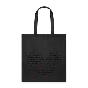 Bankrupt Without Love Tote - Tote Bag