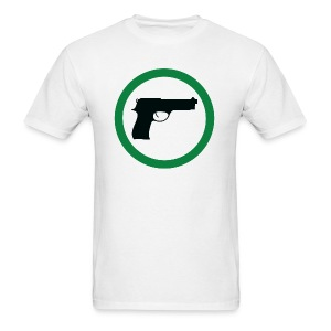 Firearms Welcome - Men's T-Shirt