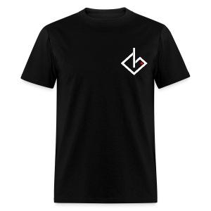 Always On - White/Red Logo - Men's T-Shirt