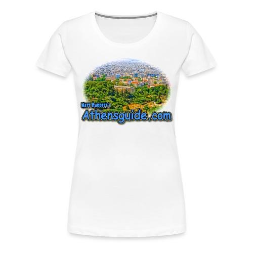 Athensguide Hephaeston (women) - Women's Premium T-Shirt