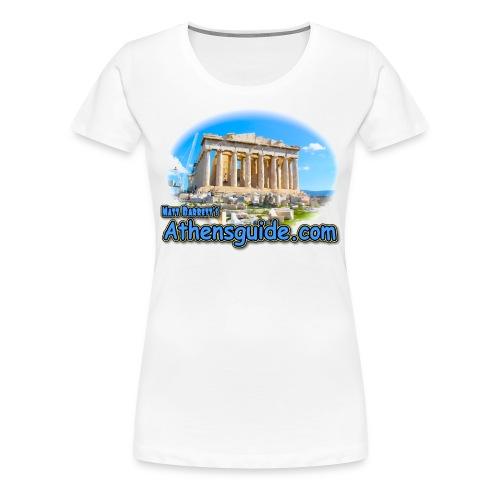 Athensguide Parthenon (women) - Women's Premium T-Shirt