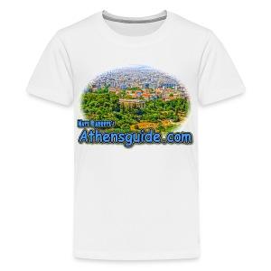 Athensguide Hephaeston (kids) - Kids' Premium T-Shirt