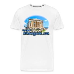 Athensguide Parthenon (men) - Men's Premium T-Shirt