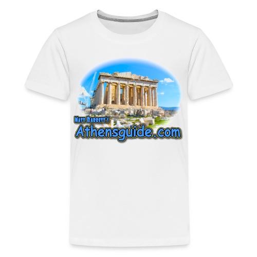 Athensguide Parthenon (kids) - Kids' Premium T-Shirt